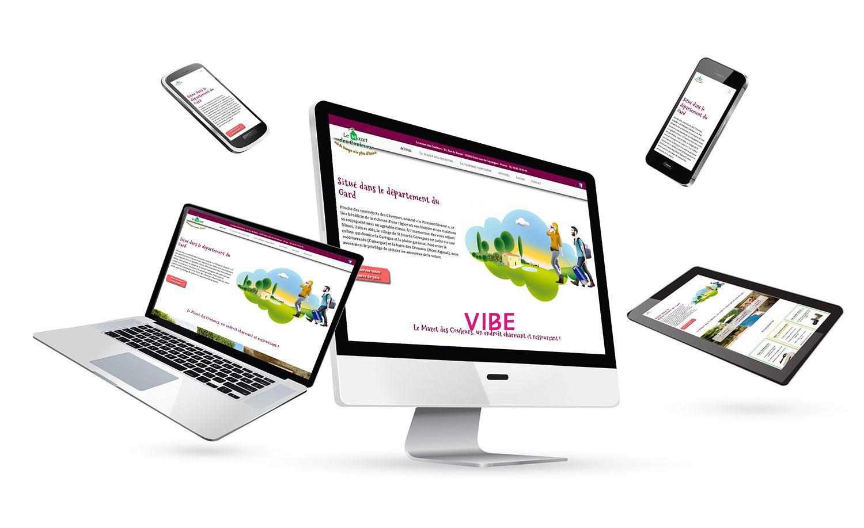 Design sur mesure création d'un site location séjours vacance sur une basse Wordpress